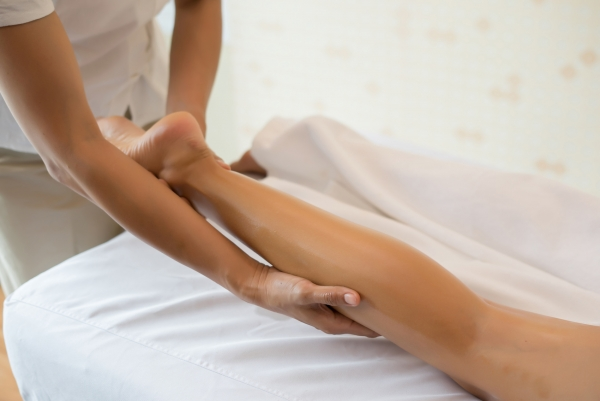 massage jambes legeres